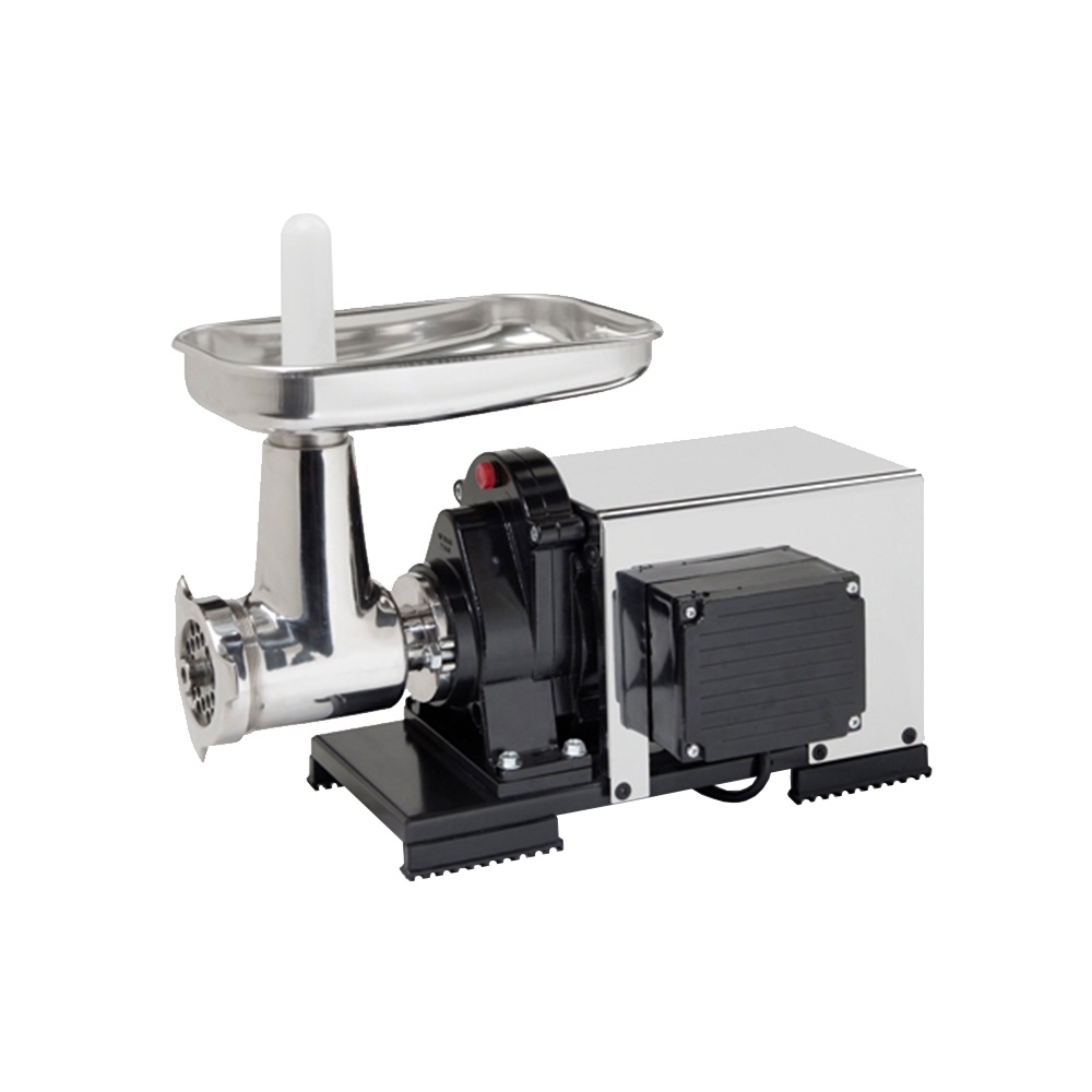 9503 NPSP Semiprofessional Meat Grinder 1200 W With Electric Motor and Cover n.22 to Grind Meat by Reber