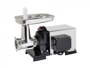 9503 NPSP Semiprofessional Meat Grinder 1200 W n.22 Reber Electric Motor and Stainless Steel Cover