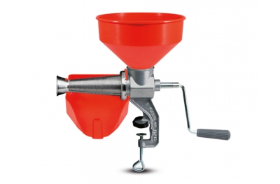 8602 N Manual Tomato Squeezer n.3 P.L.P. Reber for Zero Kilometer Tomatoes Preserves & Seasonal Fruit Juices