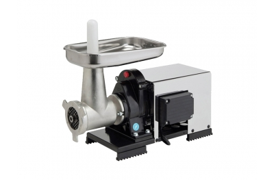 9503 NCSP Electric Short Meat Grinder 1200 W Semi-Professional n.22 Reber for Creative Cooking