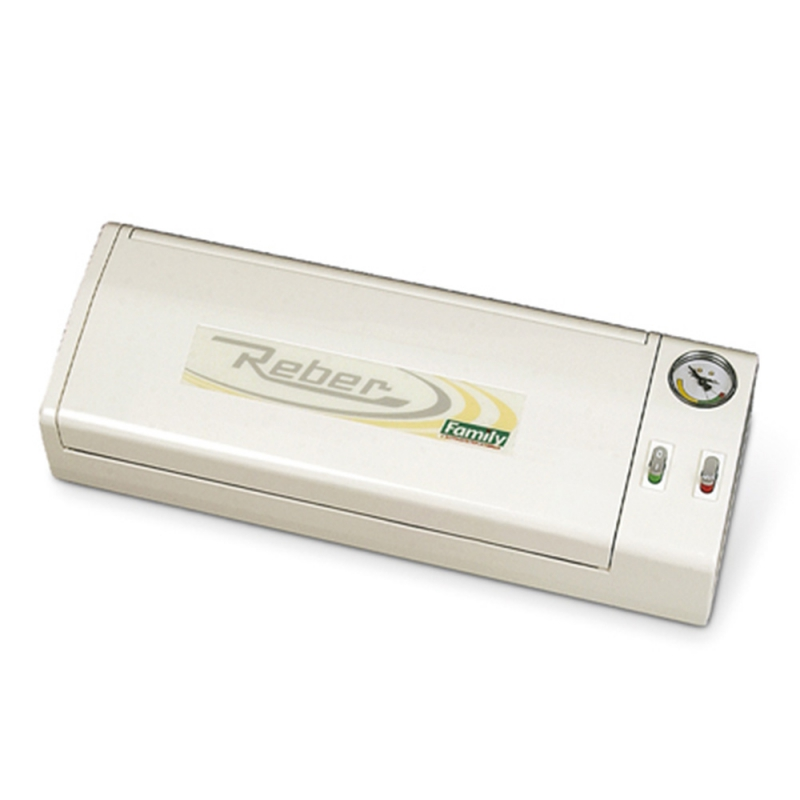 9340 N Salvaspesa White Vacuum Sealer 32cm Reber for Food Preservation With Patented Energy Saving System