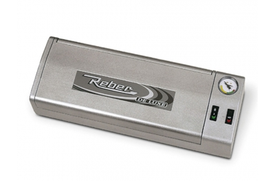 9701 N De Luxe Silver Vacuum Professional Machine 32cm Reber to Remove Air from Food Containers