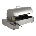 Fumetto Stainless Steel Electric Smoker Ideal for Home Use + Kit On-Off Switcher