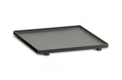 Smooth Cast Iron Griddle Ferraboli to Cook Meat and Vegetables on Barbecue at Home and Garden