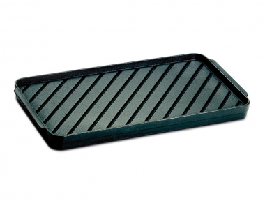 Small Grooved Cast Iron Griddle Ferraboli the Grill Pan for Home Use