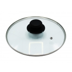 Rock Line Pan of Different Sizes in Aluminum with Soft Touch Handle Made in Italy