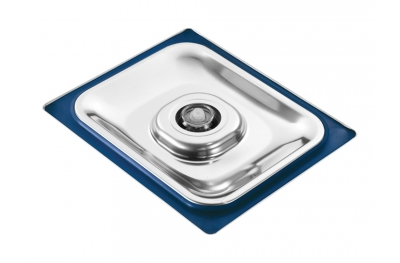 Stainless Steel Lid for Gastronorm Containers Used as Cooking Vacuum