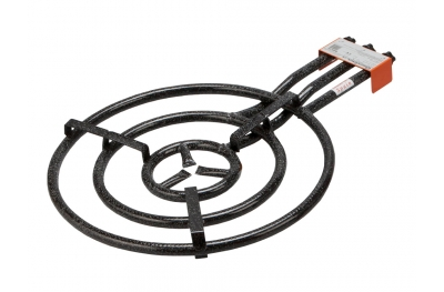 Outdoor LPG Gas Burner Cooker Large Size Ø 60 to Prepare Paella in Garden Made in Spain by Garcima