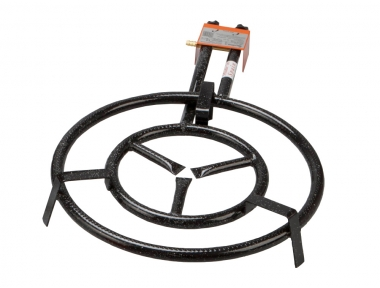 Portable LPG Gas Burner Ring Little Dimension Ø 40 for Preparing Original Paella Made in Spain by Garcima