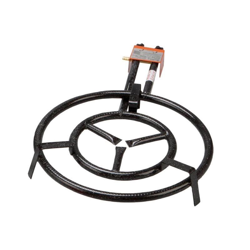 Portable Cooker Burner Ring LPG Medium Size Ø 50 to Prepare Paella Outdoor Made in Spain by Garcima