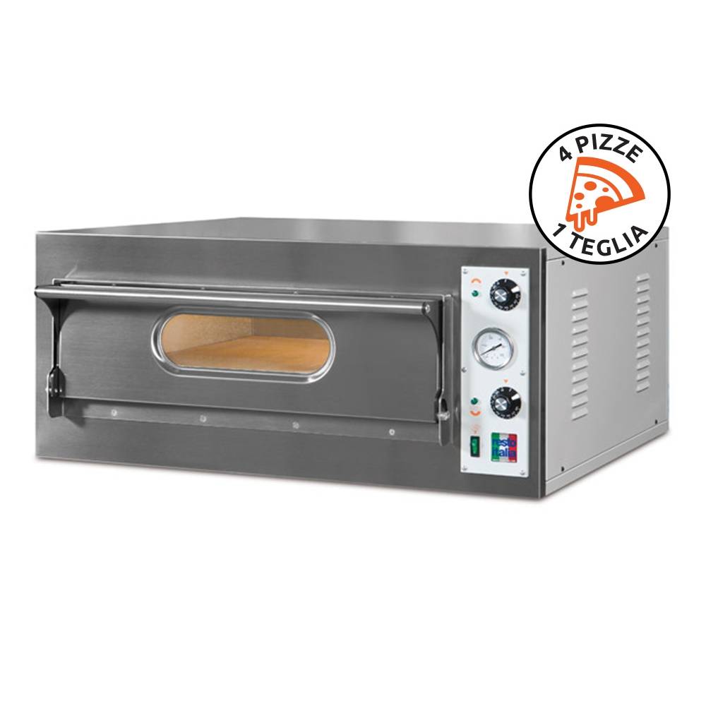 Electric Oven for Pizzeria and Rosticceria Start 4 Made in Italy by Resto Italia