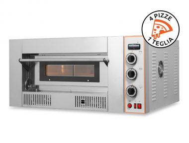 Gas Oven to Bake 4 Pizzas RG4 Made in Italy by Resto Italia