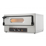 Electric Oven for Pizzas and Baking Trays Kube 1 Single-Phase 230V Made in Italy by Resto Italia