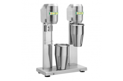 Milk Shaker with Double Glass 1,6 Lt DMB20 Easyline by Fimar