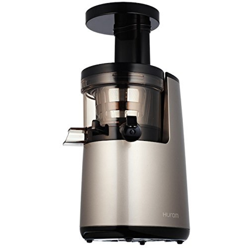 Hurom HU700 Slow Juicer Model HH-DBE-11 2G Second Generation Slow Squeezing Technology 40g/m Silver