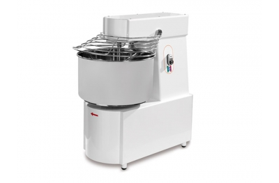 Spiral Dough Mixer SK20M Single-Phase 230V for Pizzerias Pastries Bakeries by Resto Italia