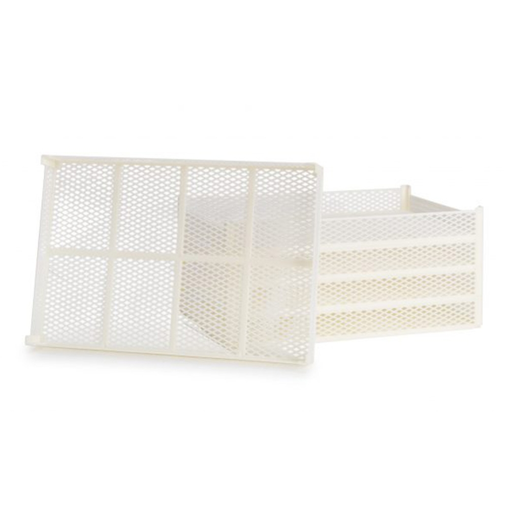 5 Plastic Baskets Kit for Replacement and Change CEB 10 on Domus and Silver Tauro Biosec Dryers