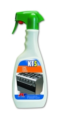 KT5 Degreaser for Ovens Hoods and Grills Kiter KT-Line 500ml Recommended for Barbecue Cleaning