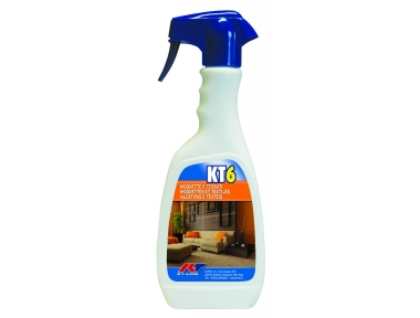 KT6 Sanitizing Stain Remover for Carpet and Fabrics Kiter KT-Line 500ml Bottle with Nebulizer