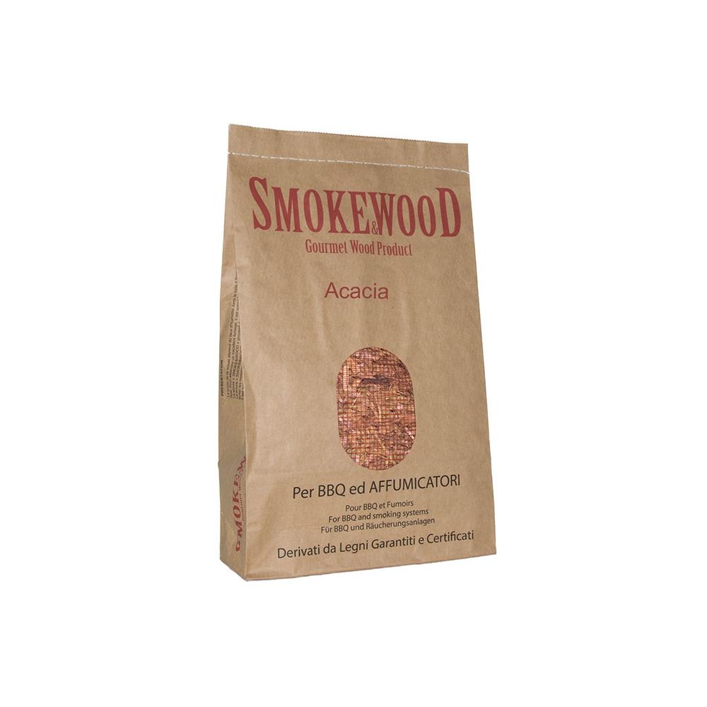 Alpine Wild Cherry Italian Gourmet Wood Chips from Trentino for BBQ and Smoker 3,3 Lt Smoke&Wood