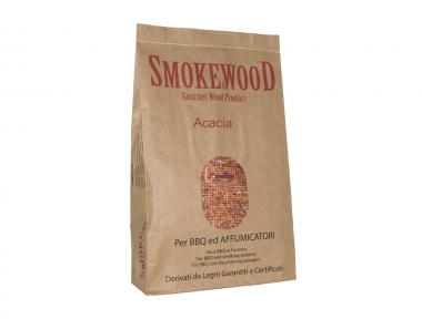 Alpine Acacia Wood for Perfuming Barbecue Meat 3,3 Lt Smoke&Wood