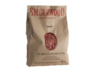 Italian Trentin Hornbeam Natural Wood for BBQs and smokers 3,3 Lt Smoke&Wood