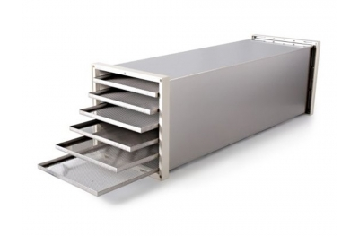 MC12 Expansion Module in Stainless Steel for Increasing Quantity of Dry Food by Biosec Tauro Italian Design