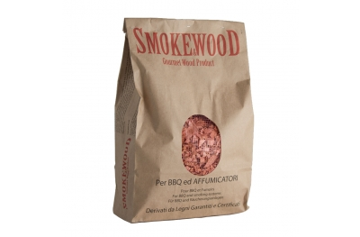 Wild Hazel Italian Trentino Wood Chips for Barbecues and Smokers 3,3 Lt Smoke&Wood