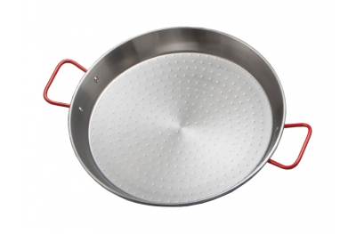 Pan for Original Paella in Iron Medium Size Diameter 60 cm With 2 Handles Ideal for Summer by Garcima
