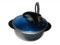 Petronilla Electric Oven-Pot Blue Color Cook in Reduced Spaces
