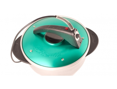 Petronilla Portable Electric Oven Pot Green Color Made in Italy
