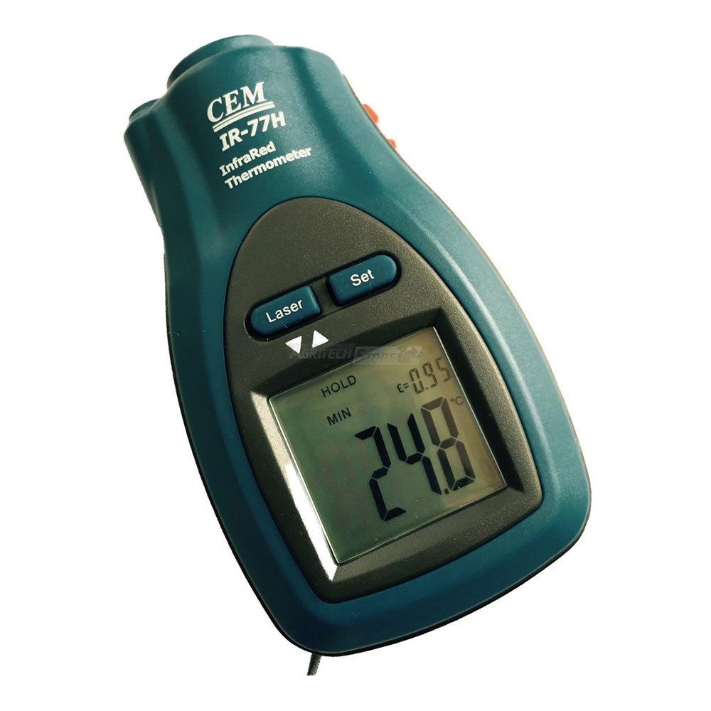 Dual Thermometer CK 8862 Infrared Laser Pointer and Backlit LCD Display