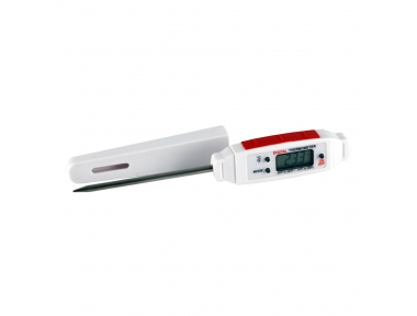 Food Thermometer with 80 mm Long Probe for Cooking at the Meat Heart