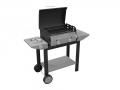 Vulcano Ferraboli Gas Barbecue with Lava Stone and Grigliandola to Avoid Grease Drop on Grill